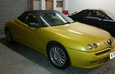 Alfa Spider Blue Mohair Hood / Soft Top / Roof £695 FITTED