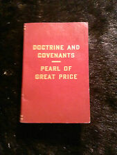 Doctrine And Covenants~~~ Pearl OF Great Price  LDS Mormon 5x3.5 1982