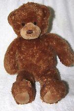 """CUTE & CUDDLY BROWN SQUEEZER GUND TEDDY BEAR PLUSH TOY 15"""" long"""