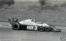 RONNIE PETERSON TYRRELL P34 6 WHEELER PHOTOGRAPH FOTO