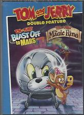 TOM AND JERRY Double Feature BLAST OFF TO MARS and THE MAGIC RING NEW DVD