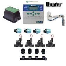 kit irrigazione Hunter 4 stazioni zone con centralina ELC programmatore completo