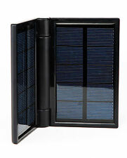 Power Solve 3.2W Solar Charger Black incl Powerful Torch T15523
