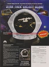 Star Trek Galaxy Globe 1993 Magazine Advert #7773