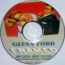 FILM NOIR R2: FRAMED (1947) Richard Wallace Glenn Ford Janis Carter Sullivan