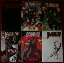 Deathblow (1993) #1, 2, 4, 6, 7 & 8 - Comic Books - By Jim Lee & Image Comics