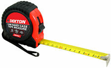 10m 35ft Metric Only Hard Case Tough Impact Resistant Pocket Tape Measure