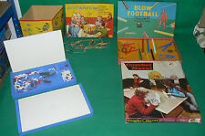 Lot de 3 jeux Combat Naval MONT BLANC , BLOW FOOTBALL Spear's Game , AQUARIUM