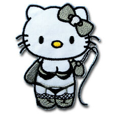 Hello Kitty Sexy Patch Iron on Kids Sew Badge Cutety Cat Cartoon Motif Toy Girl