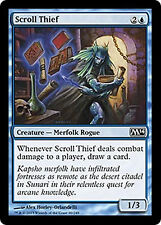 Scroll Thief  *FOIL* NM M14 MTG Magic Cards Blue Common