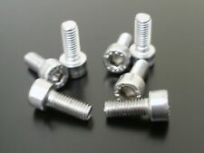 KAWASAKI ZZR1100 C D 1990-2002 SILVER STAINLESS STEEL FUEL TANK CAP BOLTS KIT
