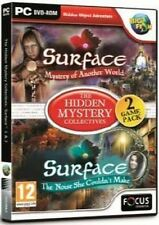 SURFACE 1 & 2 ( 2 PACK ) HIDDEN MYSTERY COLLECTION ( PC GAME ) NEW SEALED