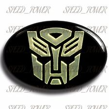 CHRYSLER 300 300C FRONT HOOD TRANSFORMER AUTOBOT STYLE EMBLEM BADGE - Gold