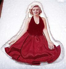 MARILYN MONROE, The Glamorous Miss Monroe Ornament Collection Paint The Town Red