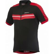 CRAFT Performance  Maillot Vélo AB Classic Jersey Noir Rouge T : M - ref 1902585