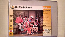 Grolier BRADY BUNCH Cast Trading card Maureen McCormick, Robert Reed Rare!