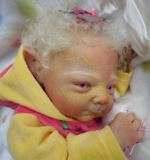 FANTASY Reborn Baby PIXIE Doll - NOOR  by ADRIE STOETE - SOLD Out SCULPT