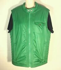 JUICY COUTURE Down **** Green  Vest **** Womens Jacket SZ L