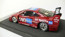 FERRARI F40 IMSA 1990 #40 BBR SERIE ORO FACTORY BUILT NO OUTER BOX 1:43