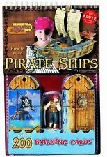 Building Cards: How to Build Pirate Ships (Klutz), Stillinger, Doug, Good, Paper