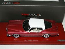 1/43 True Scale TSM 1971 Buick Riviera in Metallic Red