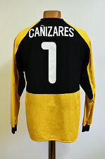 VALENCIA SPAIN 2000/2001 GOALKEEPERS FOOTBALL SHIRT JERSEY NIKE CANIZARES #1
