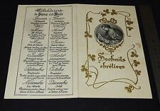 CHROMO 1930-1940 IMAGE PIEUSE CATHOLICISME HOLY CARD  CALENDRIER CHRETIEN