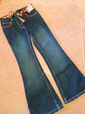NWT Gymboree Purrfect Autumn Braided Belt Flare Jeans Girls 8 Slim