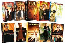 CSI Miami: Crime Scene Investigation Complete TV Series Seasons 1-10 Box/DVD Set