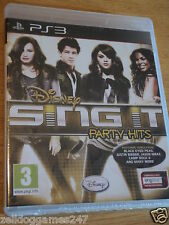 Disney Sing It Party Hits (ps3) Nuevo Y Sellado