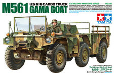 Tamiya 35330 1/35 US 6X6 Cargo Truck M561 GAMA GOAT w/ Figure from Japan Rare