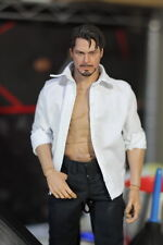 """Hot 1/6 Toys Clothing Classic White Shirt  Clothes F 12"""" Male Action Figure Body"""
