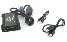Citroen USB adapter interface C2 C3 C5 C8 CTACTUSB001 RD3 Clarion VDO AUX MP3 in