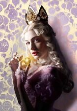 POSTER ALICE THROUGH THE LOOKING GLASS JOHNNY DEPP ANNE HATHAWAY LOCANDINA #7