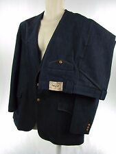 Mens Suit 44 Regular 2 Button Western Rancher Disco Denim Vintage Farah Texas