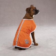 Zack & Zoey Nor'easter Blanket Pet Dog Coat Small / Medium, Orange