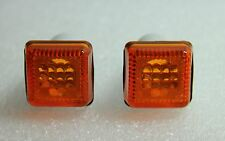 FORD ESCORT MK3 MK4 FIESTA MK2 MK3 ORION INDICATOR SIDE REPEATER KIT ORANGE PAIR