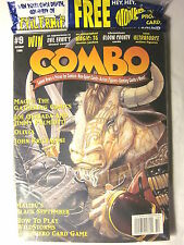 COMBO MAGAZINE #9 October 1995 in Sealed Polybag (Inserts: Monkees  & B5 Promos)