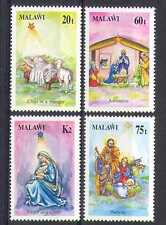 Malawi 1991 Christmas/Greetings/Animation 4v set n14859
