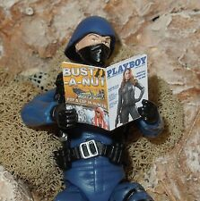 1/18 Scale Custom Playboy GI Joe Scarlett - includes several interior pages