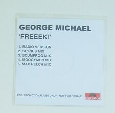 Freeek Promo Cd George Michael 5 tracks