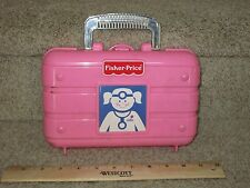Fisher Price Pink Medical Kit Box Only No accessories Replacement Part Doctor dr