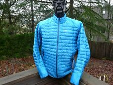 NEW! ARCTERYX CERIUM SL 850-Fill Down Jacket Riptide Blue Mens LARGE 14987
