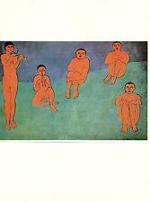 """1973 Vintage HENRI MATISSE """"MUSIC (LA MUSIQUE)"""" FABULOUS COLOR offset Lithograph"""