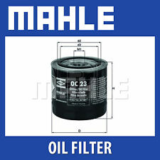 Mahle Oil Filter OC23 - Fits Ford & Volvo - Genuine Part