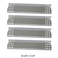 SPX451 4-pack SS Heat Plate replacement for Nexgrill Jenn Air and other Grills