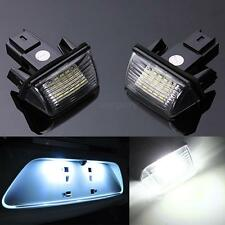 2x NO ERROR LED LICENSE NUMBER PLATE LIGHT FOR PEUGEOT 206 CITROEN C3 C4 5 XSARA