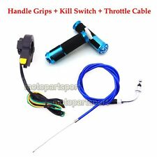 49cc 50cc Gas Motorized Bicycle Handle Grip Kill Switch Throttle Cable Push Bike