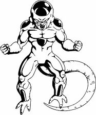 Dragon Ball Z Frieza vinyl decal sticker for car/truck laptop window
