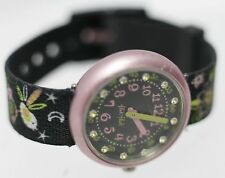 2009 - Swatch Flik Flak Aluminium ETA Swiss Fabric Womens/Childrens Wrist Watch